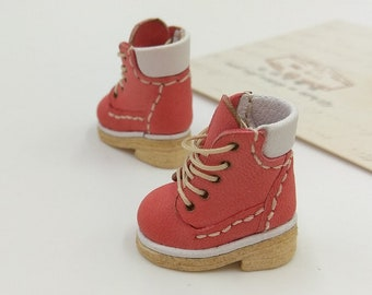 Blythe Momoko DAL Pullip Boots Shoes (Doll Shoes 29-037) / FREE SHIPPING /