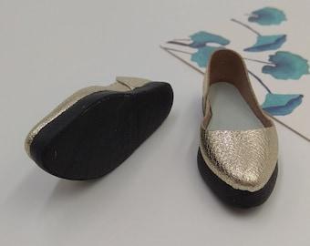 MINIFEE Handmade Leather Shoes Boots (MiniFee А-line) / FREE SHIPPING /