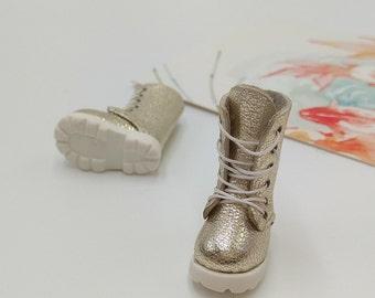 White Christmas Handmade Shoes  For Doll Blythe / Barbie / Momoko / Licca / Obitsu / DAL / Jenny / Latti _Y / Pullip