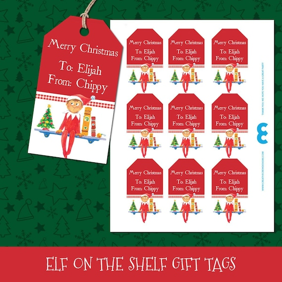 Merry Christmas Gift.Christmas Gift Tags Christmas Tags Christmas Tags Printable Holiday Gift Tags Holiday Tags Merry Christmas Tags Elf On A Shelf Tags