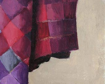 Rug study painting original