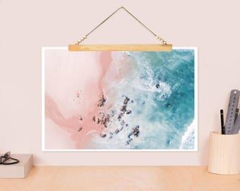 "JUNIQE ®-Design ""Sea Bliss""-Beach, sea and holiday art-designed by Ingrid Beddoes"