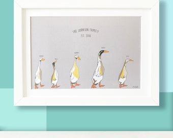 Cute Penguins Wildlife Large Poster or Canvas Art Print Maxi A1 A2 A3 A4