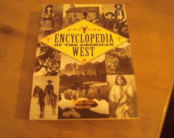 Encyclopedia Of American West Great Gift Coffee Table Hardcover Book Robert  Utley New Condition, Lots