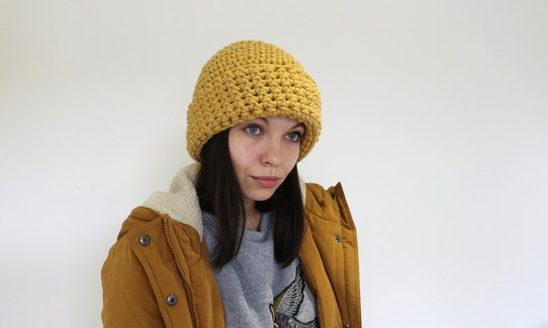 Wool chunky hat Hipsters wool hat Hand knit hat Wool ski hat Mum fall gift Oversized wool hat Woman oversized hat Ladies chemo hat