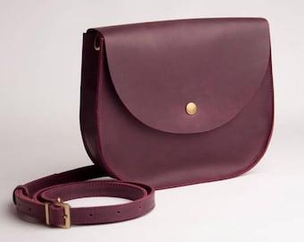 78374295e9 Burgundy Bag Natural leather bag Crossbody Bag Shoulder Boho Bag Leather Bag  Shoulder Bag Shoulder Purse