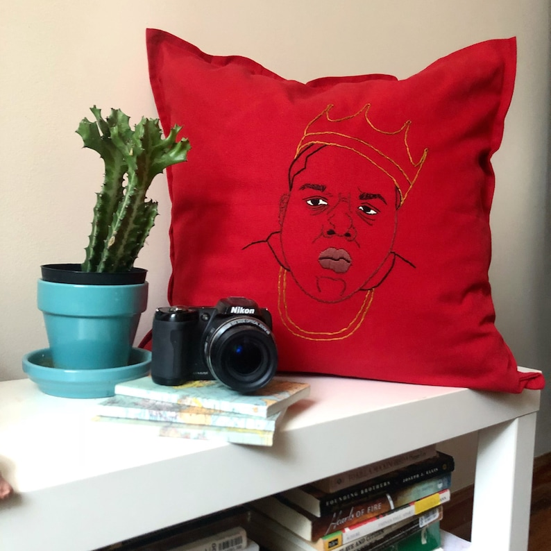 Notorious B I G  20x20 Pillow