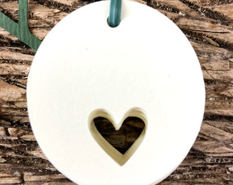 50 pz tags with heart