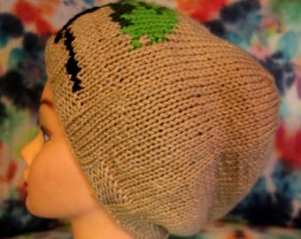 Knitted Tree Hat