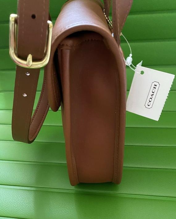 NWT Coach Vintage British Tan Side Pack Crossbody… - image 6