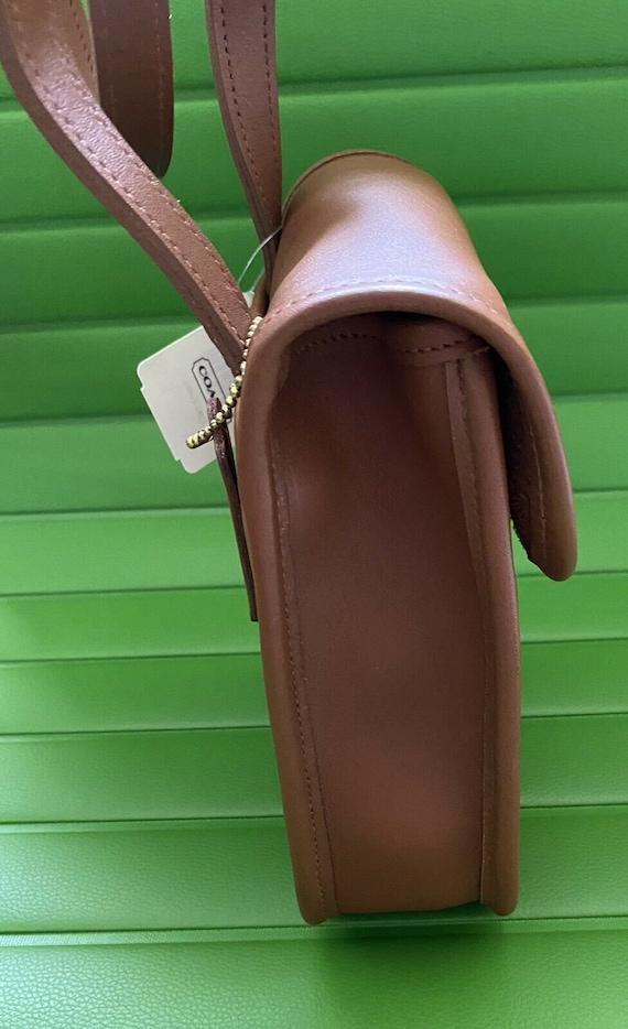 NWT Coach Vintage British Tan Side Pack Crossbody… - image 5