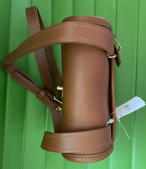 NWT Coach Vintage British Tan Side Pack Crossbody… - image 7