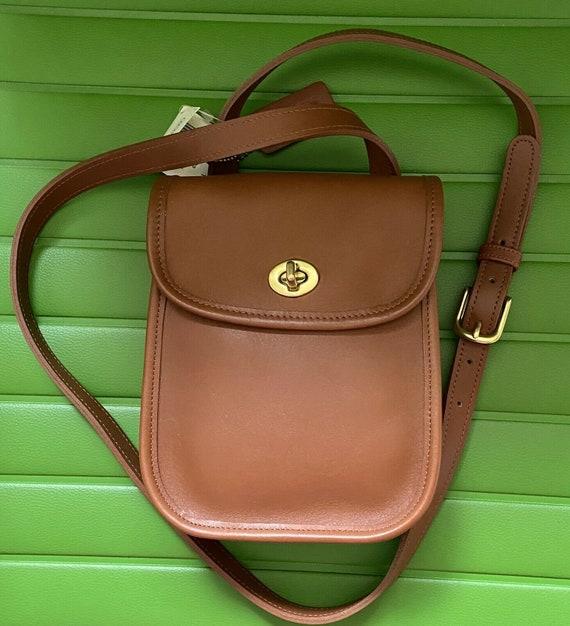 NWT Coach Vintage British Tan Side Pack Crossbody… - image 3
