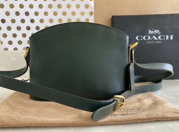 Coach Vintage Madison Chapin Forest Green Crossbod