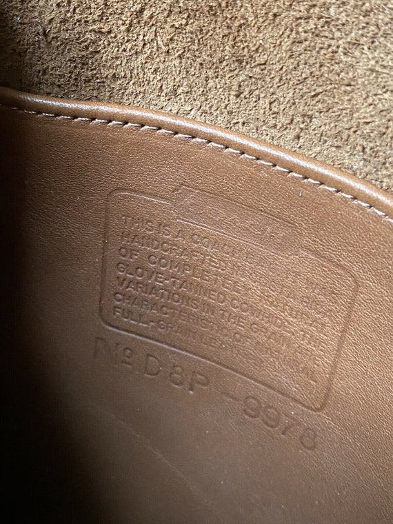 NWT Coach Vintage British Tan Side Pack Crossbody… - image 10