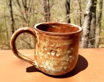 Handmade pottery mug, ceramic mug, coffee mug, tea cup, drinkware, stoneware, unique gift, 2+ CUPS, FREE SHIPPING
