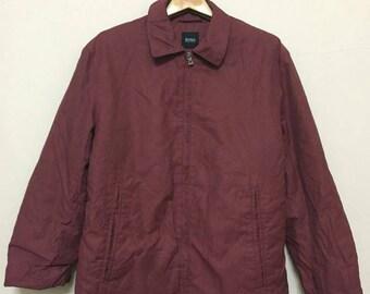 f948090e5ffb1 Puffer Jacket Adidas Trefoil Maroon Colour XL Size Jaspo Good | Etsy