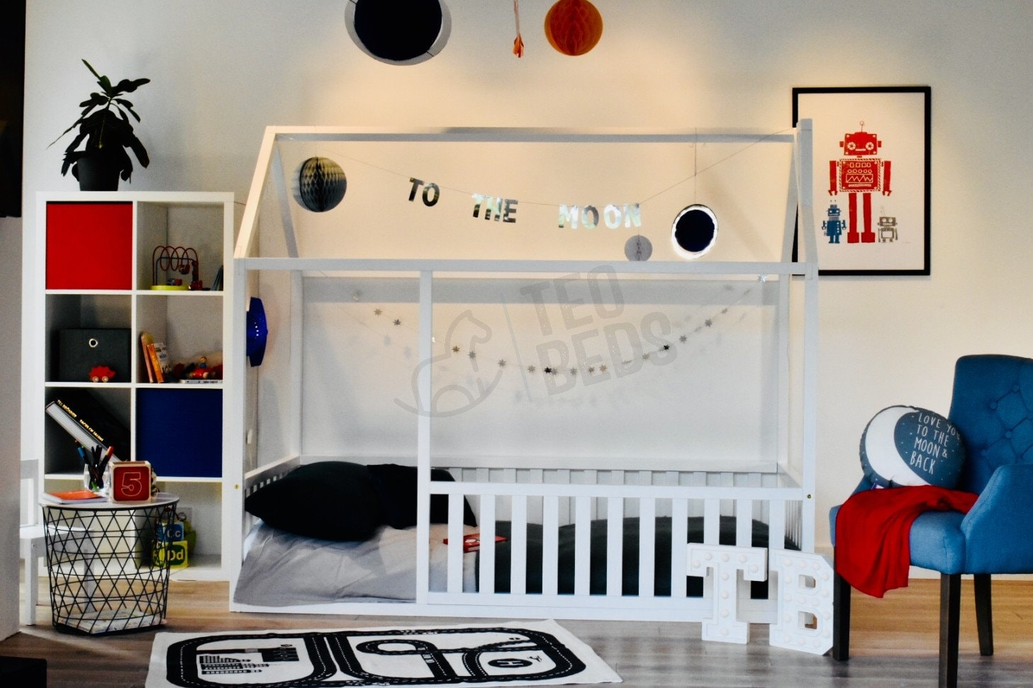 7 Inspiring Kid Room Color Options For Your Little Ones: Children Bed FULL/ DOUBLE An QUEEN Size, Toddler Bed, Baby