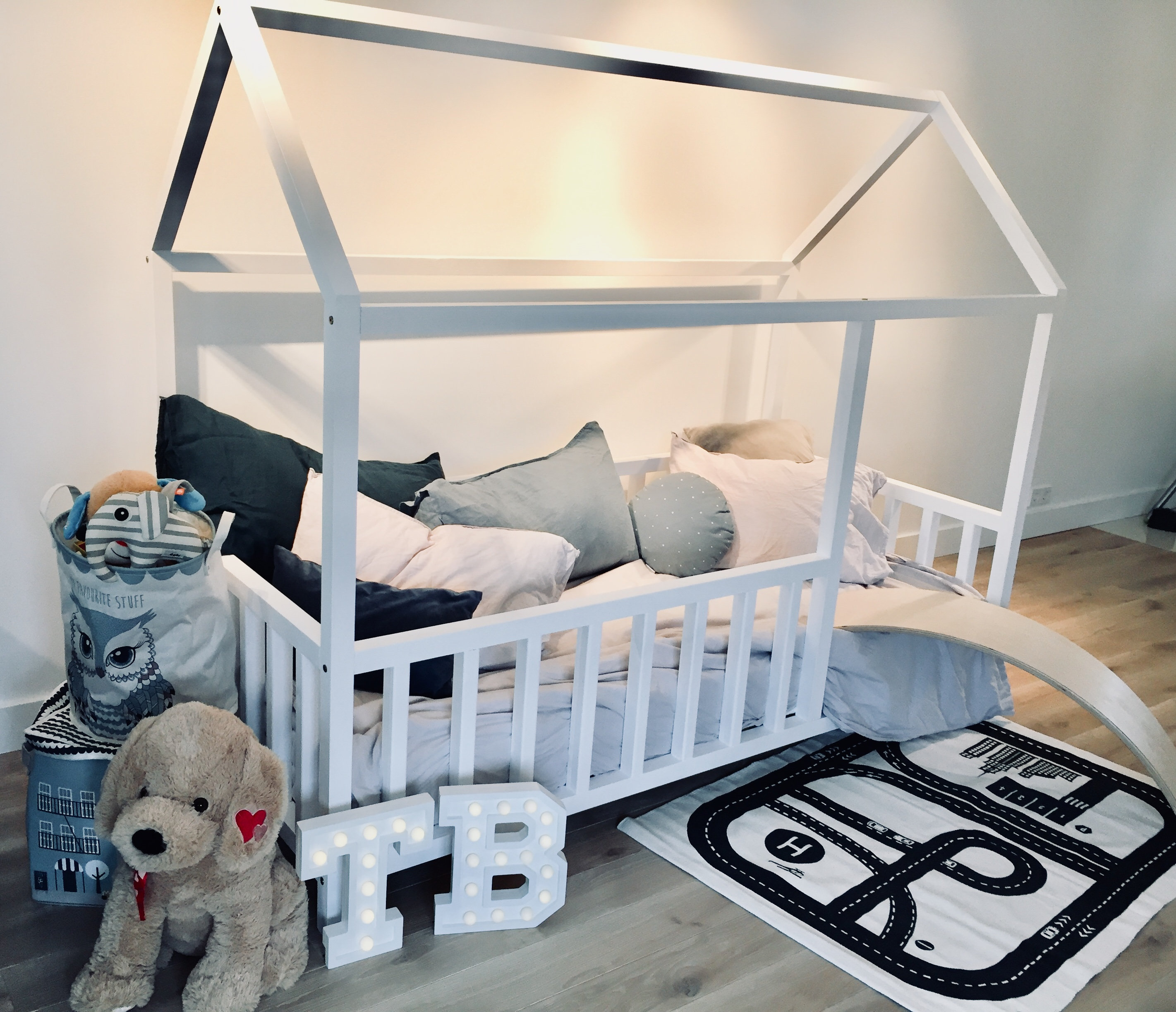Toddler Bed Play House Bed Frame Children Bed Bunk Bed Home Bed