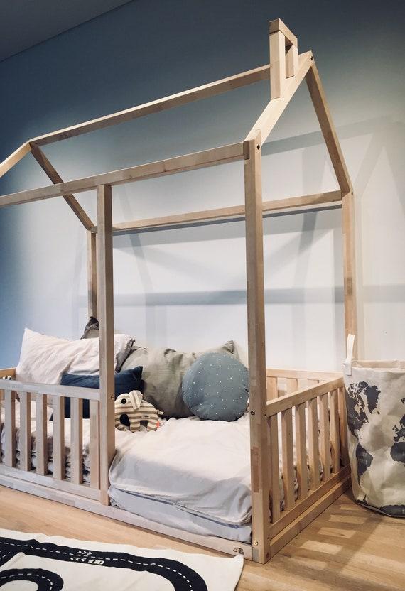 Durable Birch Hardwood Bed King Queen, Queen Size Boy Bed Frame