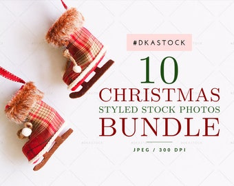 Download Free 10 Christmas Styled Stock Photos Bundle, Holiday Mockup, Christmas Mockup, Xmas Scene, Flatlay Photography, Invitation Mockup, Card, JPEG PSD Template
