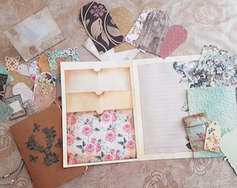 Pocket Booklet- including mini notebook and tags