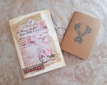 Pocket Booklet- including mini notebook and tags (treasure)