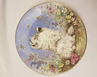 Flutter By by Pam Cooper - Kitten Encounters Collector Plate