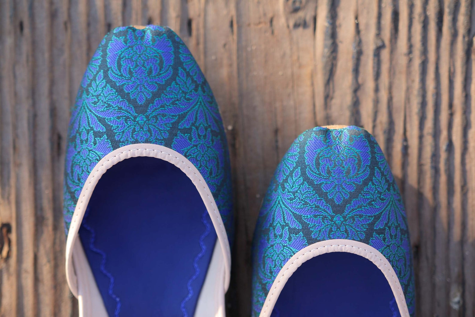 the athil by naraam - handmade slip on all leather ballet flats for women moroccan style khussa