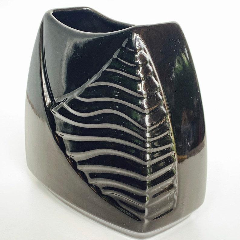 Rectangular  Scheurich  528-16 vase West-Germany