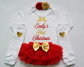 7174d2a54 My first christmas outfit