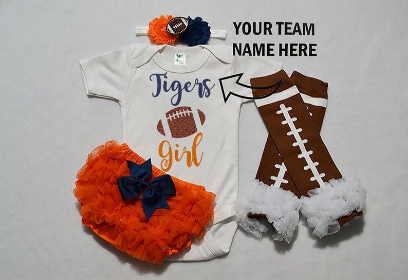 baby football jersey girl high school football baby girls football outfit girls football bodysuit baby girls college football outfit