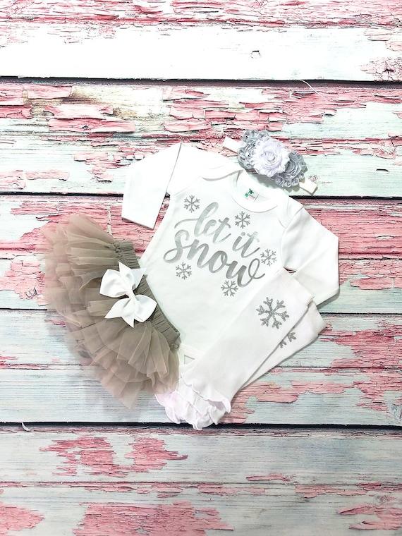 my 1st christmas baby my first christmas baby girl outfit silver snowflake baby girl christmas outfit silver and white baby christmas