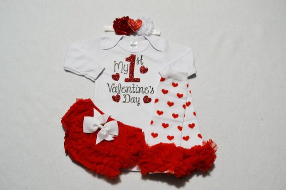 my first valentines day baby girl outfit daddys valentines baby girl baby girl my first valentines outfit baby girl valentines outfit