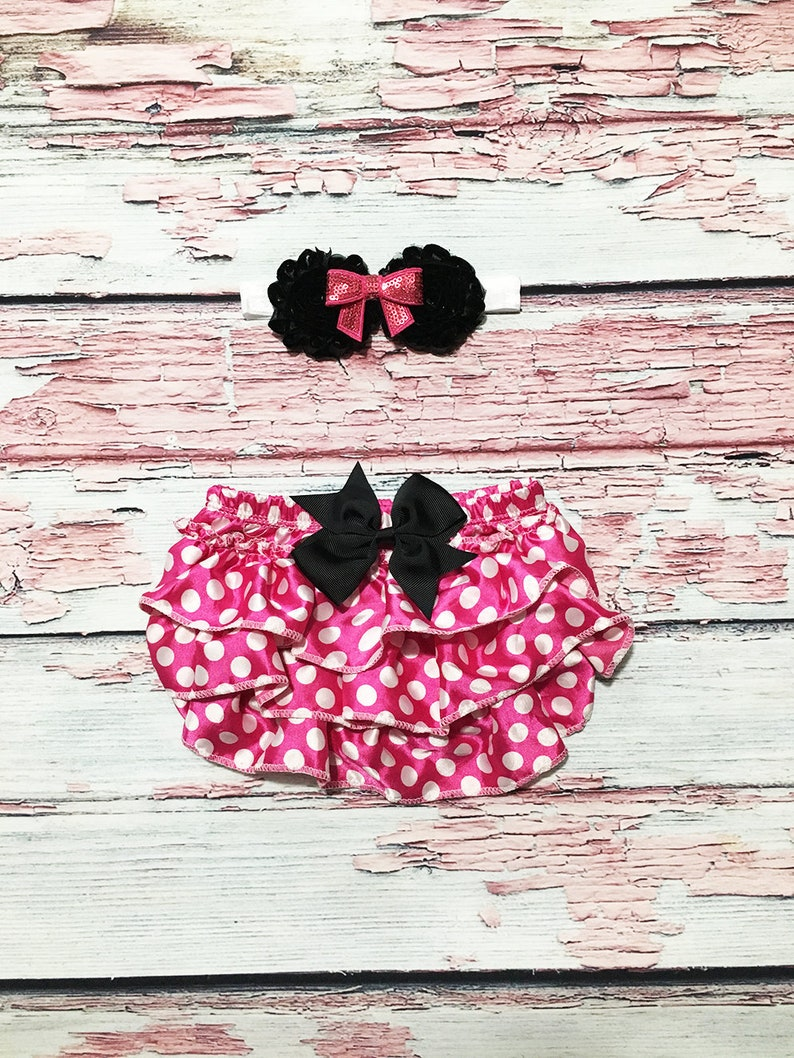 girls first birthday mouse 1st birthday mouse pink and white polka dot bloomers girls 1st birthday outfit girl first birthday outfit