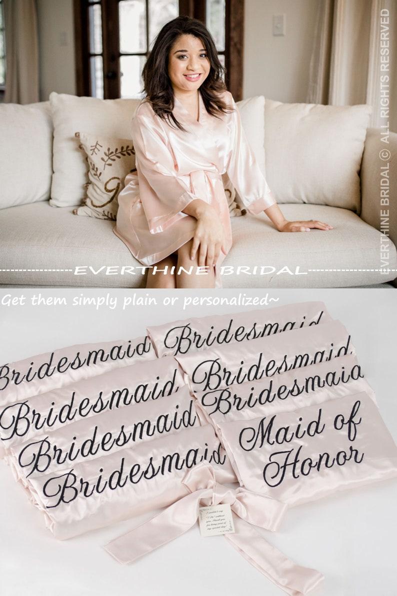 59c885f54f Bridesmaids robes set of 12 slumber party robes blush