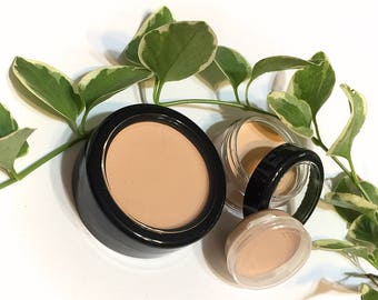 Camouflage Concealer Natural Mineral Makeup - Anti Aging Foundation with Rose Hip Oil - Gluten Free Vegan Creamy Concealer Foundation