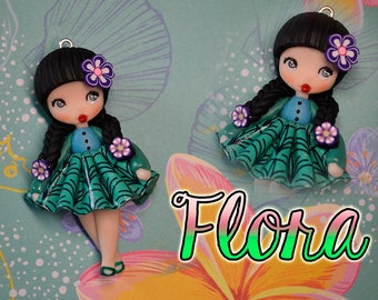 Flora - chibi girl of the Islands, Hawaiian