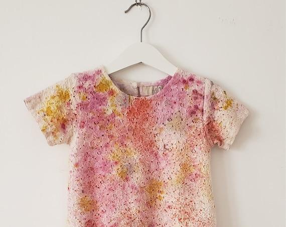 Botanical Bundle Dyed Toddler Dress