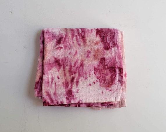 Botanically Dyed Floursack Tea Towel- SINGLE