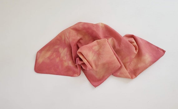 Organic Cotton Botanically Dyed Bandana