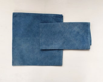 Organic Cotton Dinner Napkins Botanically Dyed-Set of Two