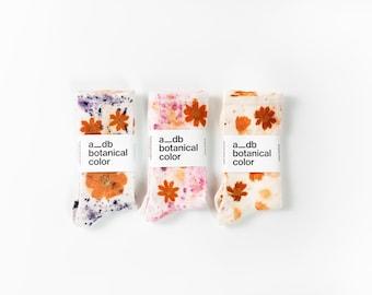 Flower Power Floral Print Socks
