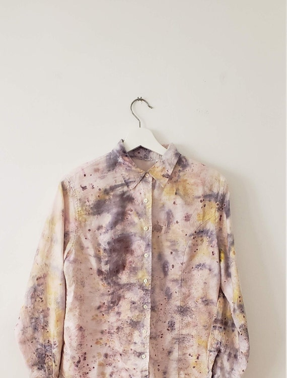 Botanical Bundle Dyed Women's Shirt