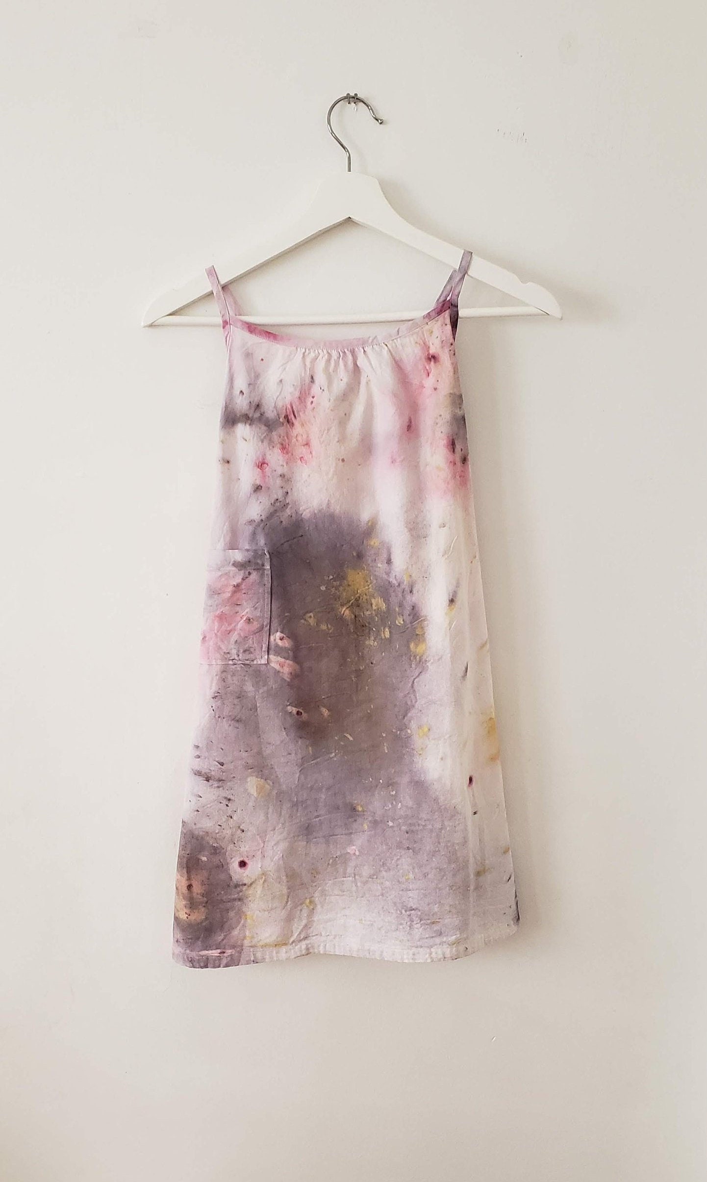 8407b1740f Organic Cotton Bundle Dyed Little Girl s Nightgown