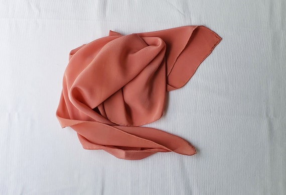 Botanically Bundle Dyed Silk Scarf | Pink Silk Scarf