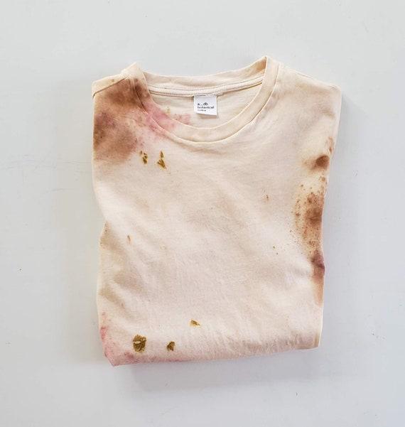 Bundle Dyed Tee | Unisex Dyed Tee | Botanically Dyed Tee | Natural Dyed T-shirt |