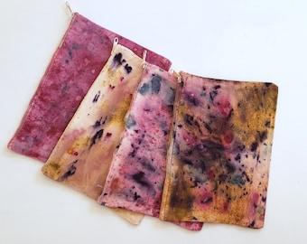 Botanically Dyed Small Canvas Travel Bag