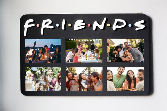 Christmas Gift Guide Layout.Friends Tv Show Picture Frame Friends Tv Show Gifts For Friends Gifts Birthday Best Friend Gift Ideas Christmas Gift Photo Frame