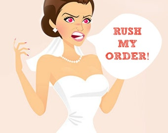 RUSH ORDER-This listing is an ADD on for any item in my store.